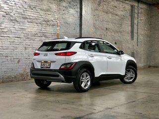2020 Hyundai Kona Os.v4 MY21 2WD White 8 Speed Constant Variable Wagon