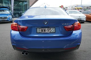 2016 BMW 430i F32 MY16.5 M Sport Estoril Blue 8 Speed Automatic Coupe