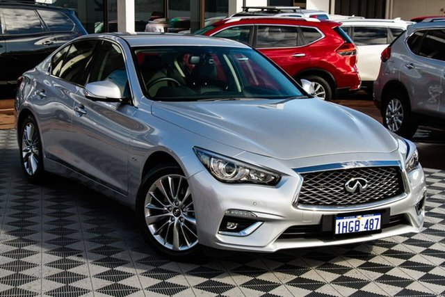 Used Infiniti Q50 V37 GT Attadale, 2018 Infiniti Q50 V37 GT Graphite Shadow 7 Speed Sports Automatic Sedan