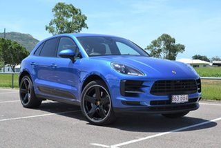 2019 Porsche Macan 95B MY19 S PDK AWD Blue 7 Speed Sports Automatic Dual Clutch Wagon.