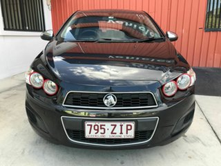 2013 Holden Barina TM MY14 CD Black 5 Speed Manual Hatchback.