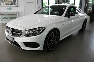 2017 Mercedes-Benz C-Class C205 808MY C43 AMG 9G-Tronic 4MATIC White 9 Speed Sports Automatic Coupe