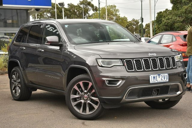 Used Jeep Grand Cherokee WK MY18 Limited Nunawading, 2018 Jeep Grand Cherokee WK MY18 Limited Grey 8 Speed Sports Automatic Wagon