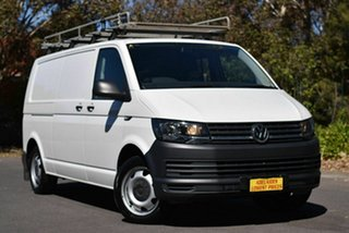 2016 Volkswagen Transporter T6 MY16 TDI400 LWB White 6 Speed Manual Van.