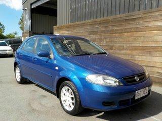 2008 Holden Viva JF MY09 Blue 4 Speed Automatic Hatchback.