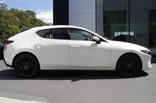 2020 Mazda 3 BP2HHA X20 SKYACTIV-Drive Astina Snowflake White 6 Speed Sports Automatic Hatchback.