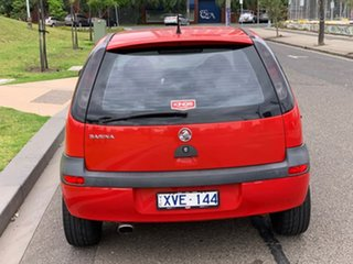2003 Holden Barina XC SRi Red 5 Speed Manual Hatchback