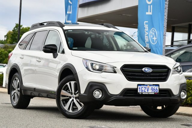 Used Subaru Outback B6A MY20 2.5i-X CVT AWD Melville, 2020 Subaru Outback B6A MY20 2.5i-X CVT AWD Crystal White 7 Speed Constant Variable Wagon