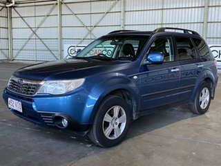2008 Subaru Forester S3 MY09 XS AWD Premium Blue 4 Speed Sports Automatic Wagon.