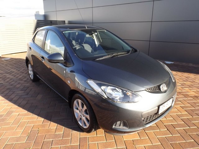 Used Mazda 2 DE10Y1 Maxx Toowoomba, 2009 Mazda 2 DE10Y1 Maxx Grey 5 Speed Manual Hatchback