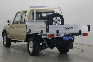 2020 Toyota Landcruiser VDJ79R GXL Double Cab Beige 5 Speed Manual Cab Chassis