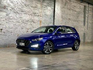2020 Hyundai i30 PD.V4 MY21 Active Blue 6 Speed Sports Automatic Hatchback.