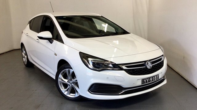 Used Holden Astra BK MY17 RS Elizabeth, 2017 Holden Astra BK MY17 RS White 6 Speed Sports Automatic Hatchback