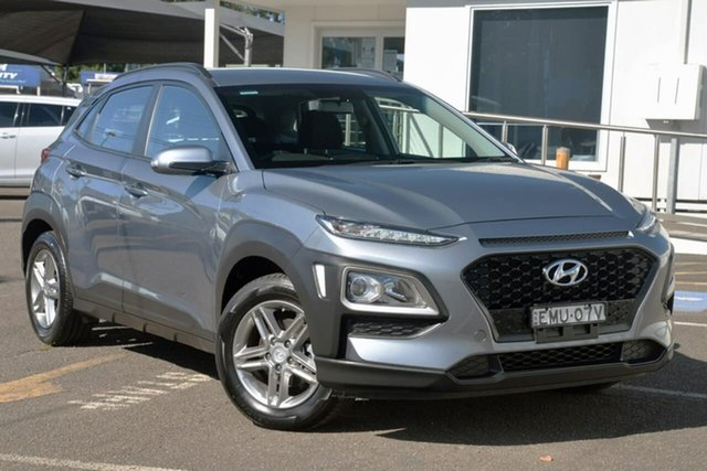 Used Hyundai Kona OS MY18 Active 2WD North Gosford, 2018 Hyundai Kona OS MY18 Active 2WD Silver 6 Speed Sports Automatic Wagon