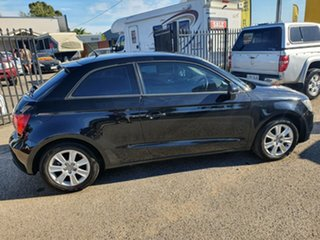 2011 Audi A1 8X MY11 Ambition Black 6 Speed Manual Hatchback.