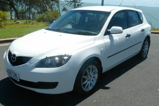 2008 Mazda 3 BK10F2 Neo White 5 Speed Manual Hatchback
