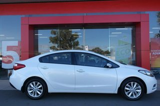 2014 Kia Cerato YD MY15 S Premium White 6 Speed Sports Automatic Sedan.