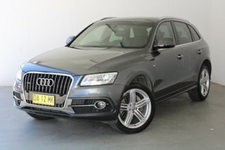 2015 Audi Q5 8R MY16 TDI S Tronic Quattro Grey 7 Speed Sports Automatic Dual Clutch Wagon