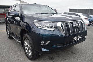 2020 Toyota Landcruiser Prado GDJ150R Kakadu Blue 6 Speed Sports Automatic Wagon.