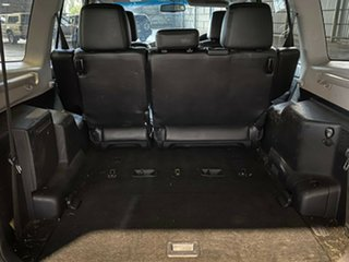 2008 Mitsubishi Pajero NS Exceed Black 5 Speed Sports Automatic Wagon