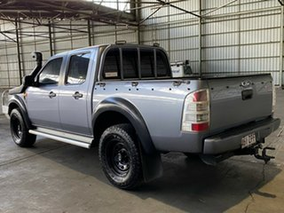 2009 Ford Ranger PJ XL Crew Cab Grey 5 Speed Manual Cab Chassis