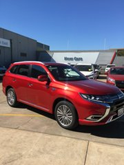 2020 Mitsubishi Outlander ZL MY20 PHEV AWD Exceed Diamond Red 1 Speed Automatic Wagon Hybrid