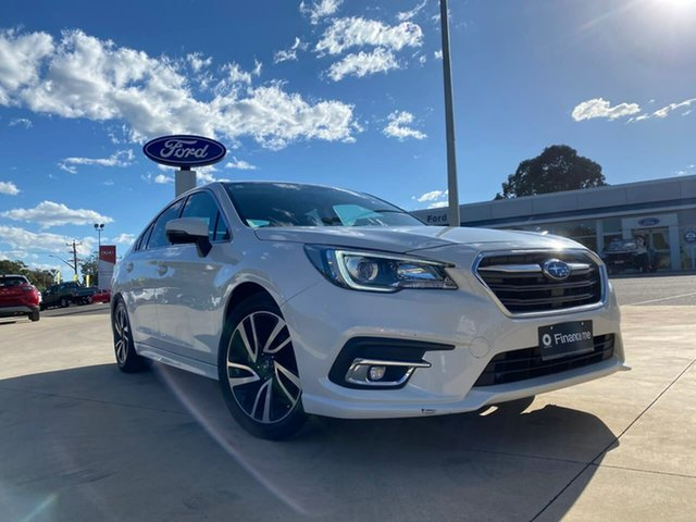 Used Subaru Liberty 2.5I Goulburn, 2019 Subaru Liberty 2.5I White Constant Variable Sedan