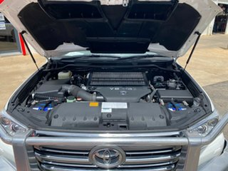 2016 Toyota Landcruiser VDJ200R VX Glacier White 6 Speed Sports Automatic Wagon