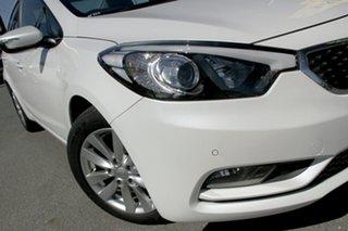 2015 Kia Cerato YD MY15 S Premium Snow White Pearl 6 Speed Sports Automatic Sedan.