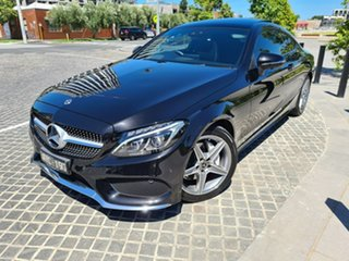 2018 Mercedes-Benz C-Class C205 C200 Black Sports Automatic Coupe