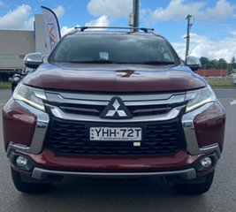 2016 Mitsubishi Pajero Sport QE MY16 GLS Burgundy 8 Speed Sports Automatic Wagon.