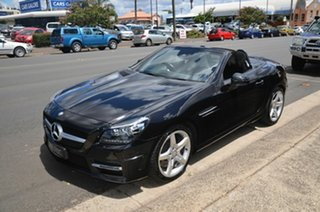 2015 Mercedes-Benz SLK250 R172 MY15 Black 7 Speed Automatic G-Tronic Convertible