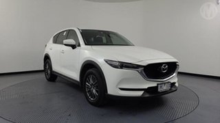2018 Mazda CX-5 MY18 (KF Series 2) Maxx Sport (4x4) Snowflake White 6 Speed Automatic Wagon.