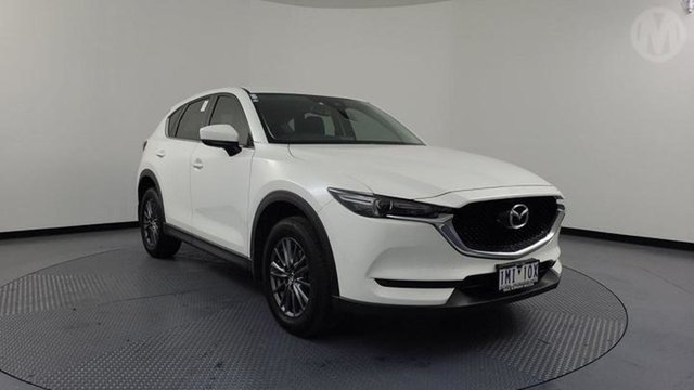 Used Mazda CX-5 MY18 (KF Series 2) Maxx Sport (4x4) Altona North, 2018 Mazda CX-5 MY18 (KF Series 2) Maxx Sport (4x4) Snowflake White 6 Speed Automatic Wagon