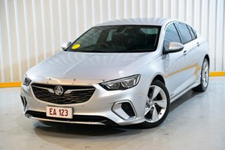 2017 Holden Commodore ZB MY18 RS-V Liftback AWD Silver 9 Speed Sports Automatic Liftback.