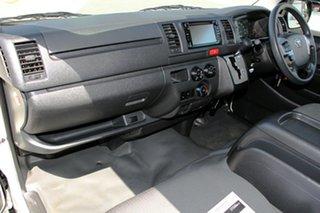 2017 Toyota HiAce KDH201R LWB Vanilla White 4 Speed Automatic Van