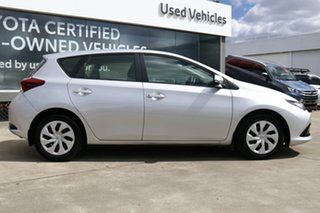 2018 Toyota Corolla ZRE182R Ascent S-CVT Silver Pearl 7 Speed Constant Variable Hatchback