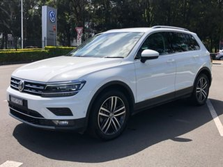 2018 Volkswagen Tiguan 5N MY19 162TSI DSG 4MOTION Highline White 7 Speed