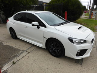 2015 Subaru WRX V1 MY15 Premium AWD Antarctic White 6 Speed Manual Sedan.