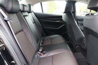 2020 Mazda 3 BP2SLA G25 SKYACTIV-Drive Astina Jet Black 6 Speed Sports Automatic Sedan