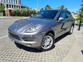 2011 Porsche Cayenne 92A S Grey Sports Automatic SUV