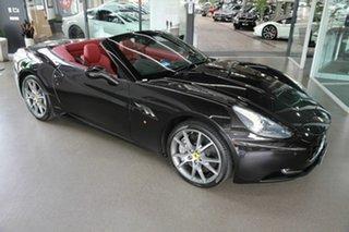2011 Ferrari California F149 DCT Black 7 Speed Sports Automatic Dual Clutch Convertible