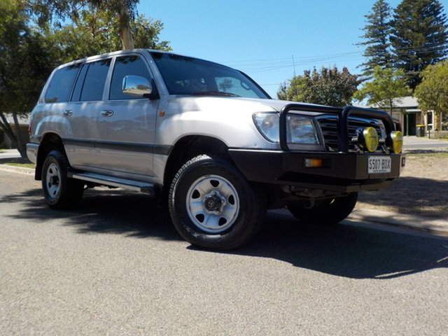 Used Toyota Landcruiser HDJ100R GXL Broadview, 2005 Toyota Landcruiser HDJ100R GXL 5 Speed Automatic Wagon