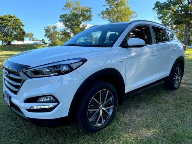 Used Hyundai Tucson TL MY17 Active X 2WD Mount Gravatt, 2016 Hyundai Tucson TL MY17 Active X 2WD Winter White 6 Speed Sports Automatic Wagon