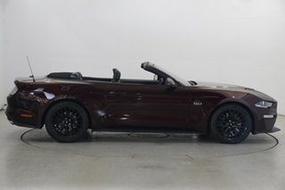 2018 Ford Mustang FN 2019MY GT Maroon 10 Speed Sports Automatic Convertible