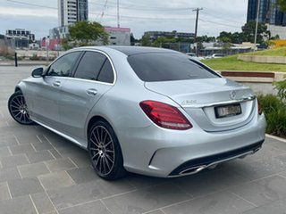 2018 Mercedes-Benz C-Class W205 C300 Silver Sports Automatic Sedan.