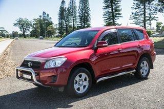 2012 Toyota RAV4 ACA38R MY12 CV 4x2 Red 5 Speed Manual Wagon.