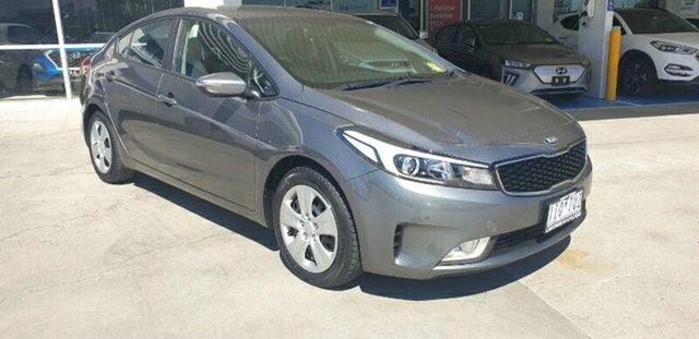 Used Kia Cerato YD MY17 S Melton, 2016 Kia Cerato YD MY17 S Metal Stream 6 Speed Sports Automatic Sedan