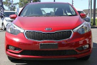 2015 Kia Cerato YD MY15 S Premium Temptation Red 6 Speed Sports Automatic Sedan