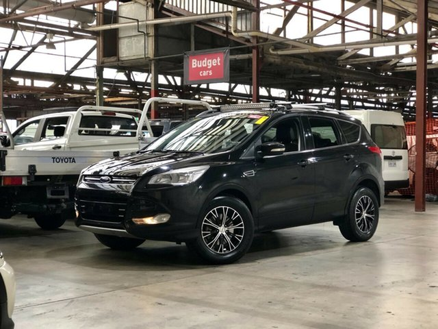 Used Ford Kuga TF Trend PwrShift AWD Mile End South, 2013 Ford Kuga TF Trend PwrShift AWD Black 6 Speed Sports Automatic Dual Clutch Wagon